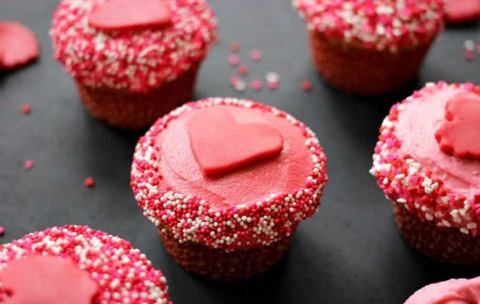 Cupcakes Saint-Valentin au thermomix