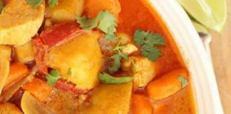 Poulet aux carottes et sauce curry avec thermomix