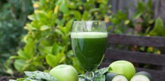 Jus de légumes vertes avec Thermomix