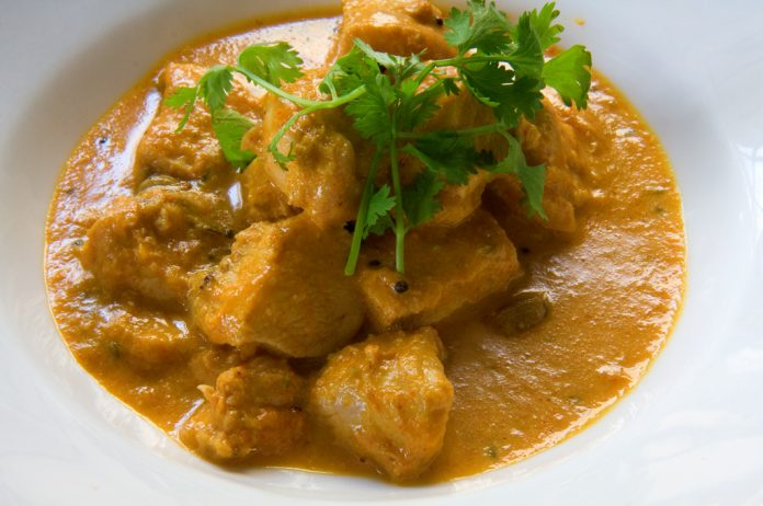 Poulet coco curry WW au thermomix