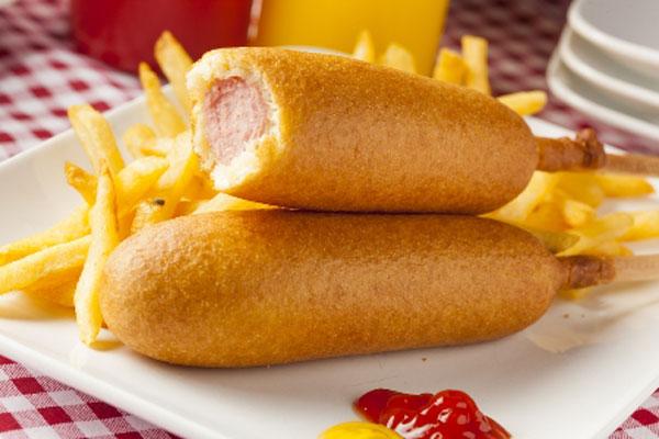 Beignets de hot dog