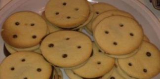 Biscuits au chocolat avec Thermomix
