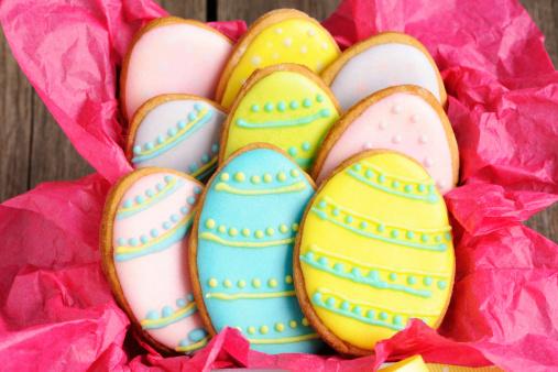 Biscuits Décorés de Pâques avec Thermomix