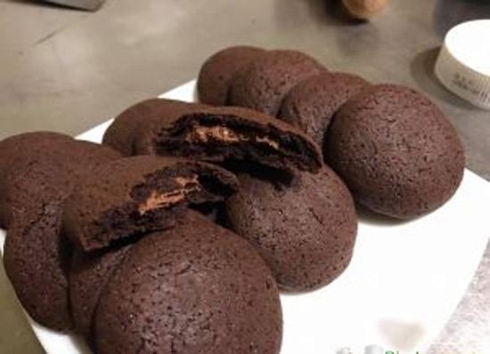 Biscuits fourrés avec Thermomix