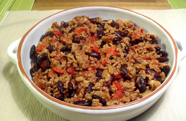 Chili con carne Weight watchers
