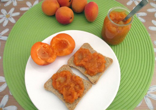 Confiture d'abricot Weight watchers