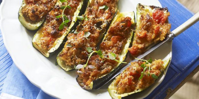 Courgettes farcies légères Weight watchers