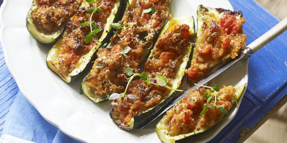 Courgettes farcies l g res weight watchers recette weight watchers - Recette cuisine weight watcher ...