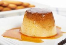 Flan au caramel Weight watchers