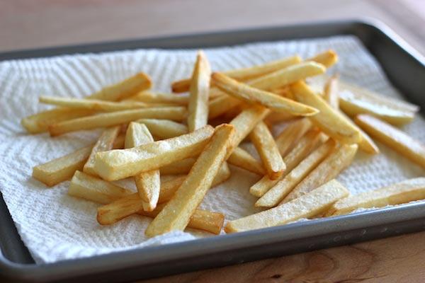Recette frites weight watchers