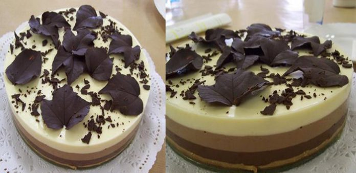 Gâteau aux 3 chocolats avec Thermomix