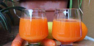 Jus de carottes avec Thermomix