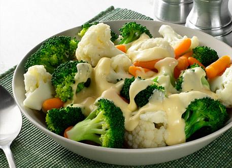 Légumes à la sauce blanche Weight Watchers