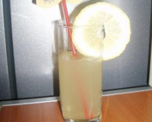 Limonade maison avec Thermomix