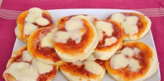 Mini-pizza Express avec Thermomix