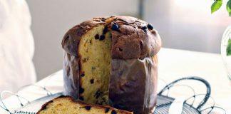 Panettone aux raisins secs et pépites de chocolat avec Thermomix
