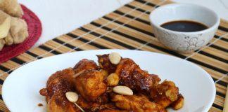 Poulet aux amandes et sauce soja avec Thermomix