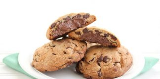 Cookies Coeur Nutella avec Thermomix
