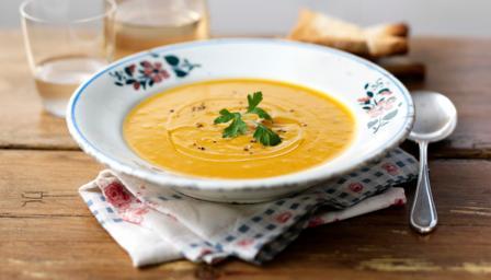 Soupe au potiron weight watchers