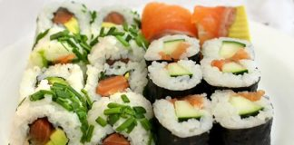Sushis et Makis Weight watchers