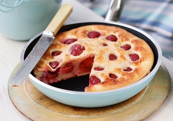 clafoutis aux fraises weight watchers