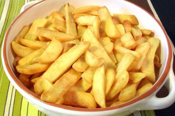 Frites croustillantes Weight watchers