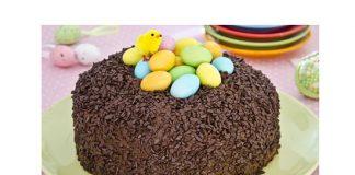 Gâteau au chocolat de Pâques avec Thermomix
