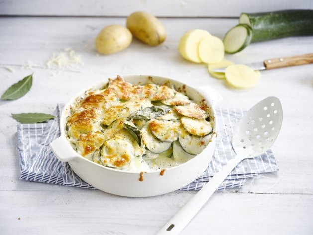 Gratin de pommes de terre et courgettes Weight watchers