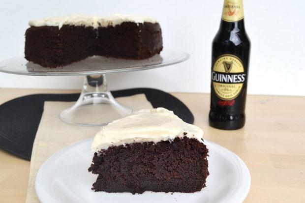 gâteau à la bière Guinness