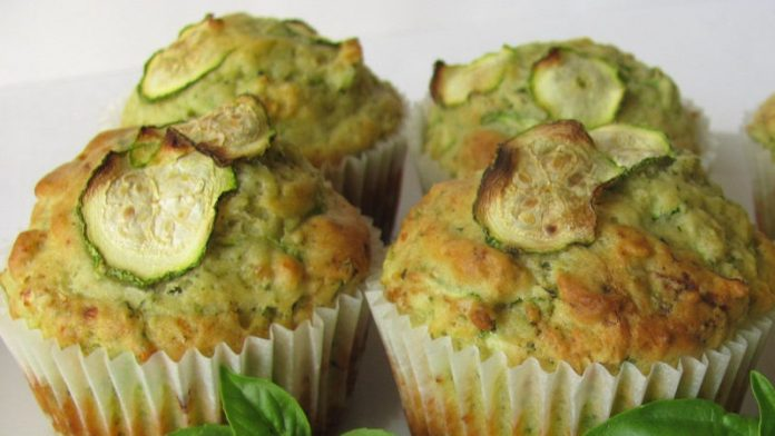 Muffins aux courgettes Weight watchers