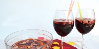 Cocktail Sangria maison avec Thermomix