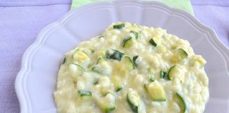 Risotto aux courgettes et fromage Weight Watchers