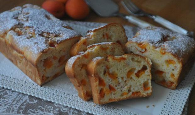 Cake aux abricots avec Thermomix