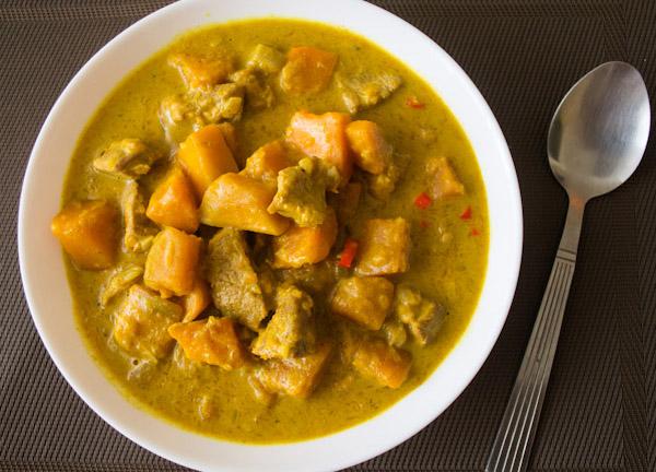 Porc au Curry avec Thermomix