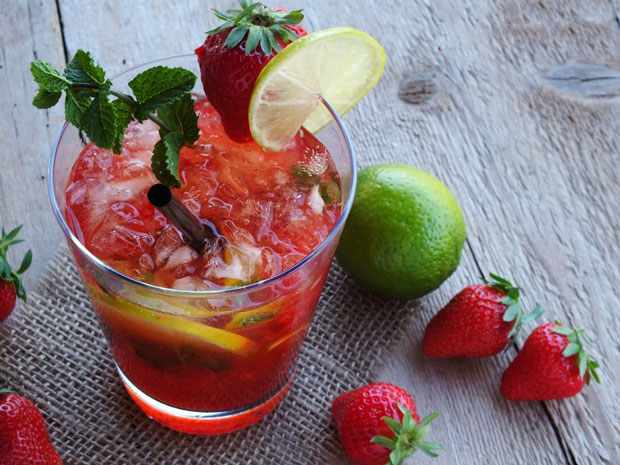 Mojito Fraise Weight watchers