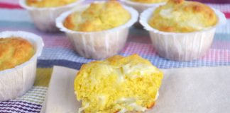 Muffins aux 4 fromages avec Thermomix