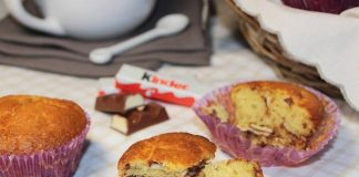 Muffins aux Kinder avec Thermomix