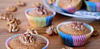 Muffins aux noix et miel avec Thermomix