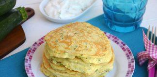 Pancakes aux courgettes
