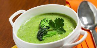 Soupe de brocolis avec Thermomix
