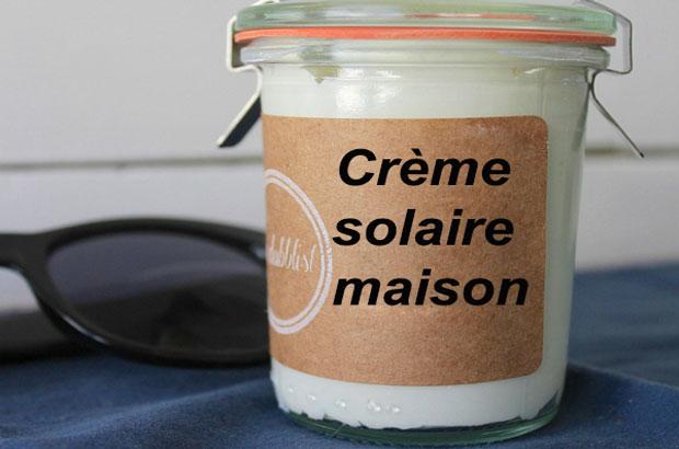 Crème solaire maison au thermomix