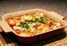 Gratin de tomates au chèvre Weight Watchers