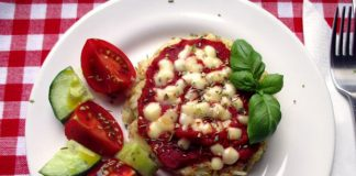 Mini-pizza de riz Weight Watchers