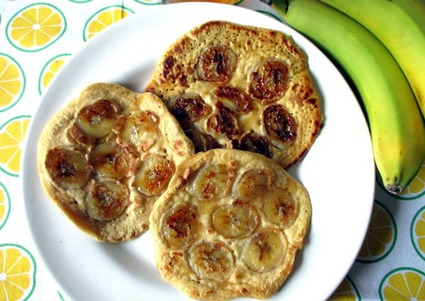 Pancakes aux bananes Weight Watchers