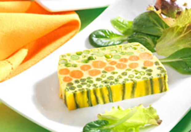 Terrine aux trois l gumes weight watchers plat et recette - Plat cuisine weight watchers ...