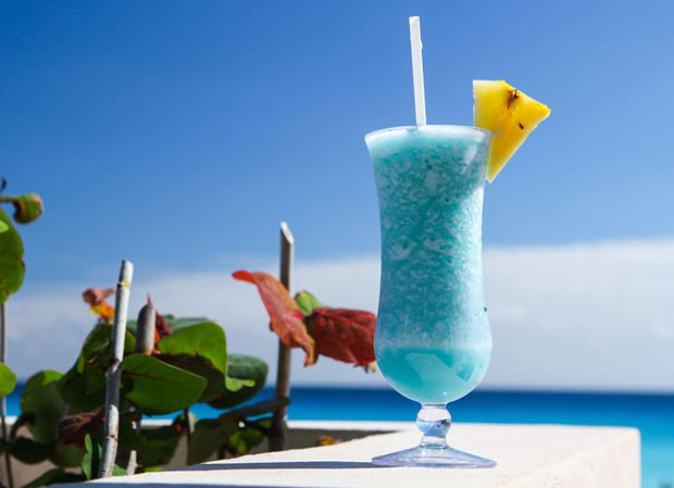 cocktail Blue Hawaiian avec thermomix