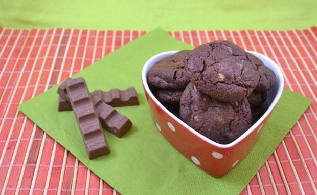 Cookies au Kinder avec Thermomix