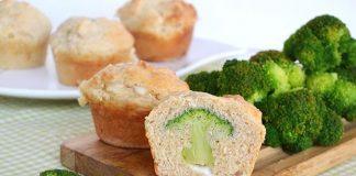 Muffins aux brocolis Weight Watchers