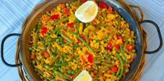 Paella aux légumes Weight Watchers