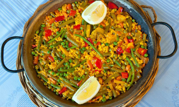 Paella aux l gumes weight watchers plat et recette - Plat cuisine weight watchers ...